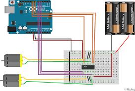 arduino l293d dc motors control feiticeir0s blog wiring wiring