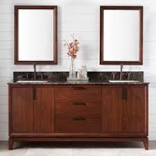 72 Double Sink Bathroom Vanity by 72 Inch Double Sink Bathroom Vanity Burnished Mahogany Finish