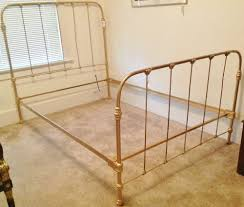 wrought iron bed frame antique bed frames ideas pinterest