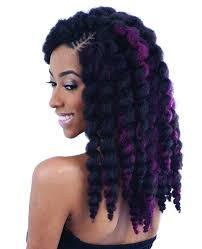crochet hair freetress braid bulk bouncy twist out crochet braid
