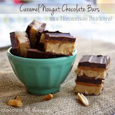 chocolate therapy caramel nougat chocolate bars