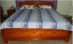 Full Double Bed Double Bed 7 Ft X 6 Feet With Storage Full Segun Wood Bed