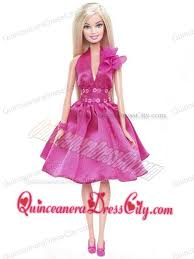 pretty princess sequin pink gown for barbie doll 38 25
