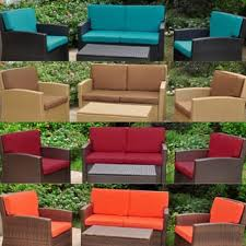 Wicker Loveseat Replacement Cushions Outdoor Cushions U0026 Pillows Shop The Best Deals For Dec 2017