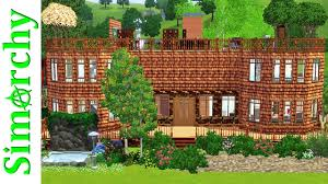 the sims 3 house tour beautiful large family home with rooftop