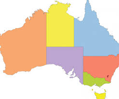 Blank Map Of The States by Blank Australia Map Dr Odd