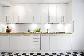 Kitchen Cabinet Interiors Decor White Kitchen Cabinet Design Interior Decors Stylish Home