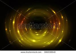 abstract fractal brown background crossing circles stock