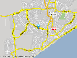 clacton on sea map r t s garage mot and service centre where to find us