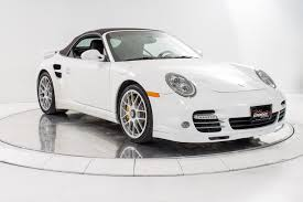 2011 porsche 911 turbo used 2011 porsche 911 turbo s cabriolet for sale plainview near