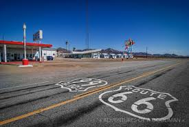 Map Of Route 66 From Chicago To California by Highlights Of Route 66 In California Greg Goodman Photographic
