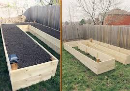 U Shaped Easy Access Raised Garden Design