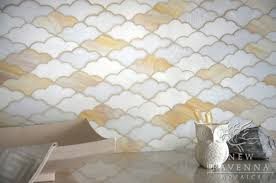 Stained Glass Backsplash by Glass U0026 Glass Mosaic Tile Fantasia Showrooms