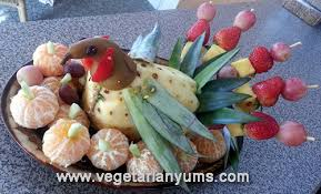 fruit table centerpiece a healthy decorating option with fruits