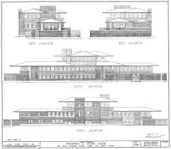 darwin martin house plan house design plans