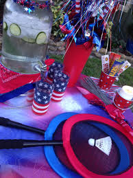 create a patriotic play station for your july 4th party the