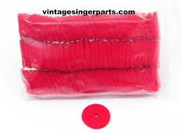 spool pin felt pads 100 ct 3 mm thick red or white u2013 central