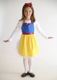 free sewing pattern snow white princess dress apron u0027s