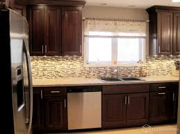 furniture beautiful kitchen decor with kitchen backsplash and