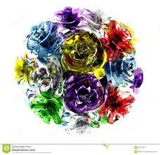 glass roses of glass roses stock illustration image 54313571