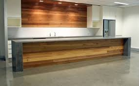 polished concrete kitchen timber too cooking away pinterest