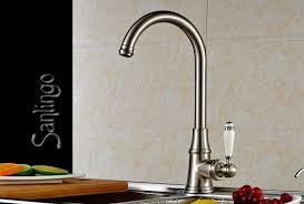 robinetterie evier cuisine lavabo cuisine mitigeur robinet poignée céramique aspect acier inox