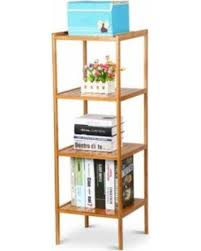 Bathroom Towel Storage Cabinet Spectacular Deal On 4 Tier Bamboo Bathroom Shelf Storage Cabinets