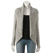 apt 9 clothing apt 9 essential cocoon cardigan women s style for