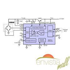 hx711 weight load cell 2 channel pressure sensor amplifier