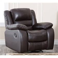 abbyson living bradford faux leather reclining sofa dark brown abbyson living home garden products