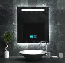 radio bathroom mirror exclusive led bath shower mirror with radio panel mp3 player