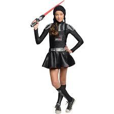 Star Wars Halloween Costumes Kids Darth Vader Tween Girls Dress Costume Kids Star Wars Costumes