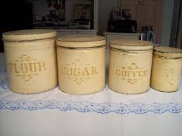 uncategories storage jars silver canister set white kitchen