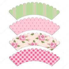 cupcake wrappers u2014 stock vector ishkrabal 38254031
