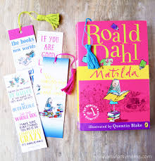 printable bookmarks for readers free printable roald dahl bookmarks artsy fartsy mama