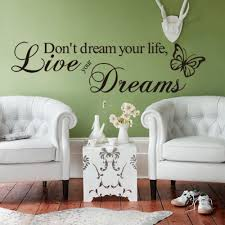 Mural Stickers For Walls Compare Prices On Wall Decor Letters Online Shopping Buy Low