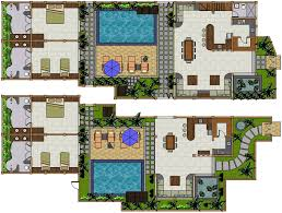 villa plans building villa teman villa plans