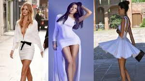 classy white dresses for christmas eve party youtube