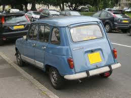 renault 4 renault 4 gtl photo rear paris autos u2013 independent citroen and