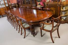 mahogany dining room set vintage mahogany dining table with 14 chairs for sale at