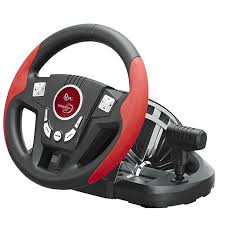 gaming steering wheel betop btp 3189 11 inch non slip 300 degree shock computer driving