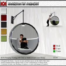 second life marketplace km boxed hanging floating orb chair