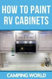 what is the best paint for rv cabinets how to paint rv cabinets cing world