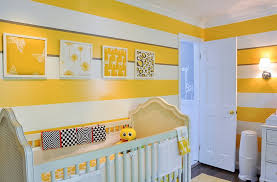 Yellow Nursery Decor Bedroom Yellow Wall Paint For Baby Nursery Decorating Ideas With
