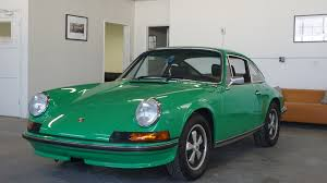 green porsche 1973 porsche 911 t coupe viper green lti cars