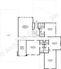 100 attic bedroom floor plans pepperwood ranch home plan