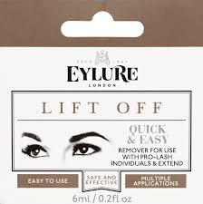 Makeup Remover For Eyelash Extensions Eylure Liftoff 6ml Individual Lash Remover Amazon Co Uk Beauty