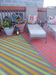 Painting An Outdoor Rug Diy Painted Outdoor Rug Hometalk