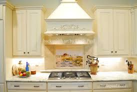 Copper Kitchen Backsplash Ideas Kitchen Tuscan Tile Murals Kitchen Backsplashes Tuscany Art Tiles