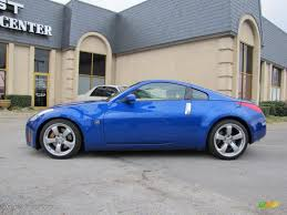 Nissan 350z Coupe - daytona blue metallic 2007 nissan 350z grand touring coupe